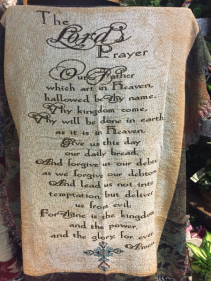 Afghans The Lords Prayer