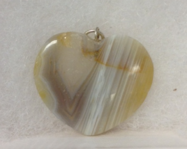 Agate Heart Pendant Jewelry