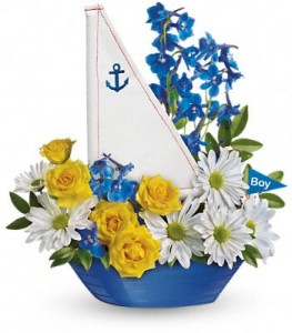 Ahoy It's A Boy  in Fort Lauderdale, FL | ENCHANTMENT FLORIST
