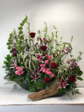 Air Plant Memorial  Urn Arrangement