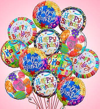 Air-Rangement® - Birthday Mylar Balloons Balloons