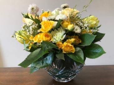 Airy Bowl of Birthday Birthday Flowers
