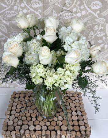 Alabaster Elegance Premium Vase