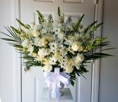Alas de Angel Arreglo Floral para Condolencias