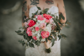 Aweless Elegance Bridal Bouquet