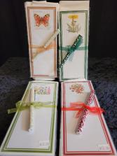 Alice's Cottage tea towel/note/pen set