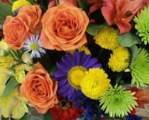 Alice's Pick for Fall Custom Mixed Floral Design