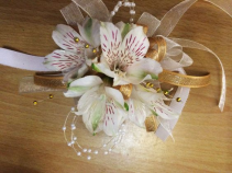 All About Alstromeria Corsage