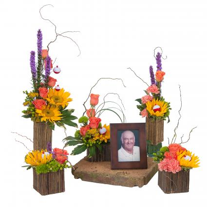 All About Dad Memorial Arrangement