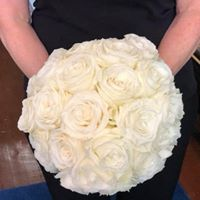 All About Roses Bridal or Brides Maid Bouquet