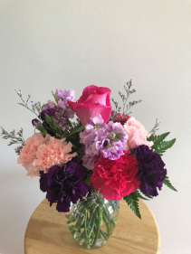 All about you bouquet Vase arrangement