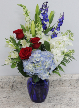 All American Floral Bouquet