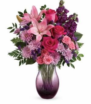 All Eyes On You Bouquet One-Sided Floral Arrangement in Winnipeg, MB | KINGS FLORIST LTD