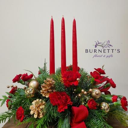 All Is Bright Christmas Arrangement