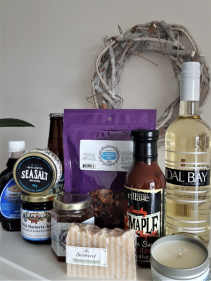 THE NOVA SCOTIAN LOCAL PRODUCTS PROUDLY MADE IN NOVA SCOTIA