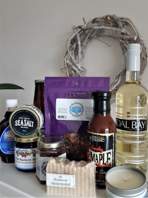 MARITIME BREEZE  Absolutely all local gift basket in Halifax, NS | Twisted Willow