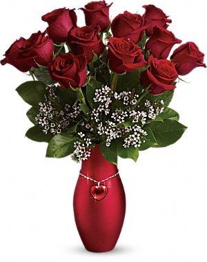 all my heart bouquet valentine's