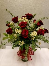 All my love Dozen Red Roses