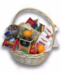 All Nighter A Custom College Study Basket