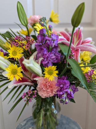 All Occasion Designer Spring  Vase Arrangement