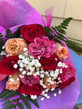 ALL occasion mix colored ROSES loose
