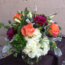 """All Of Me...Loves All Of You"" Fresh Cut Vased Arrangement"