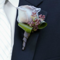 All Season Boutonniere Wedding