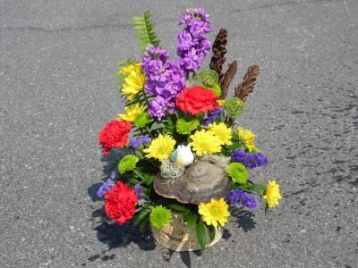 All Season's Chickadee Bouquet