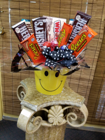All Smiles Candy Bouquet