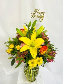 All Smiles  Floral Arrangement