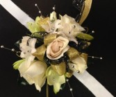 All Sparkle Corsage prom flowers
