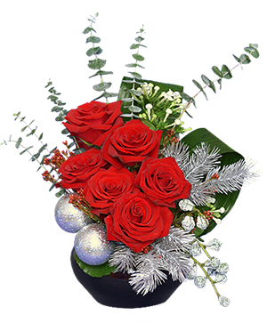 ALL SPRUCED UP Holiday Bouquet in Cary, NC | GCG FLOWERS & PLANT DESIGN