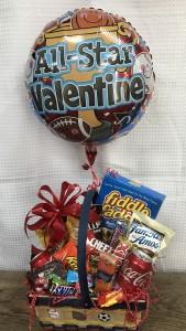 All Star Valentine Basket