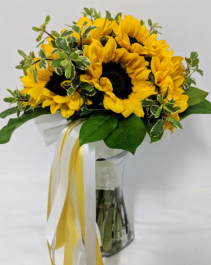 All Sunflowers Handheld Bouquet