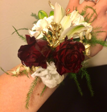 All That Glitters... Wrist Corsage