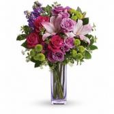 All Things Beautiful    vase arrangment