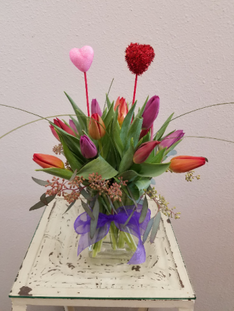 All Tulips, All the Time! Tulips in Vase