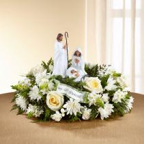 All White Nativity