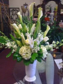 All White Sympathy Arrangment