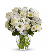 All whites and creams  Vase