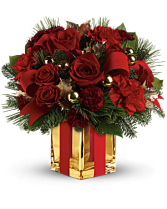 All Wrapped Up Bouquet vase