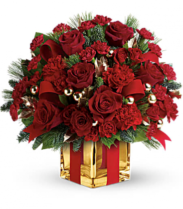 All wrapped up Teleflora