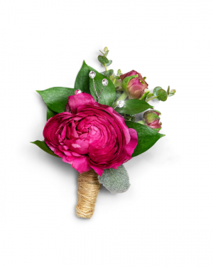 Allure Boutonniere Corsage/Boutonniere in Nevada, IA | Flower Bed