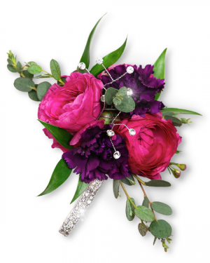 Allure Corsage Corsage/Boutonniere in Nevada, IA | Flower Bed