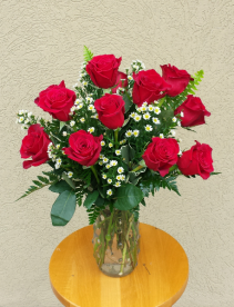 Alluring Red Roses Valentine's Day