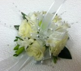 Almost White PROM FLOWERS