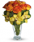 Orange Bliss Vase Arrangement