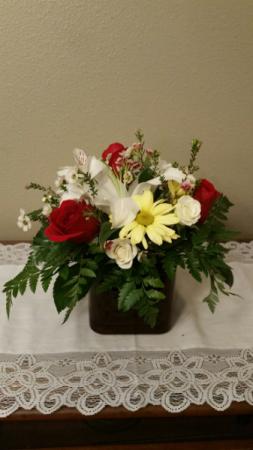 Alstroemeria Lily & Rose Valentine flowers