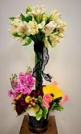 Alstroemeria Topiary Exclusive Arrangement