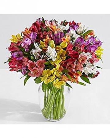 Alstromeria Bouquet Fresh Floral Arrangement